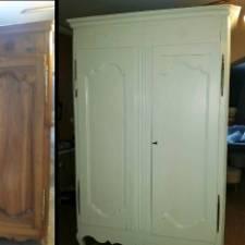 armoire ivoire