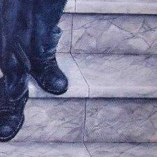 marche en marbre / décor mural
