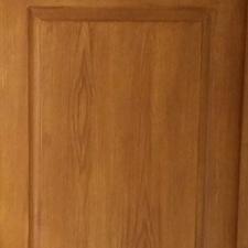 fausse porte en chene / cuisine