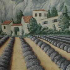 Vue sur paysage provencal / salon