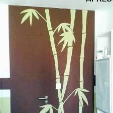style bambou / salle de bain